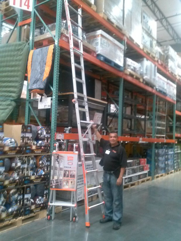 little giant ladder costco waiting on the of the year plus a free 10522